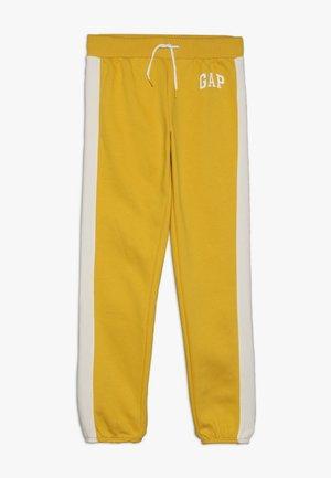 GIRLS LOGO  - Pantalones deportivos - rainslicker yellow
