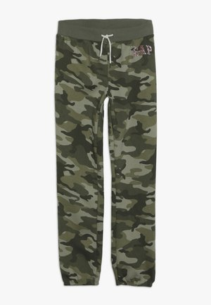 GIRLS LOGO  - Tracksuit bottoms - twig