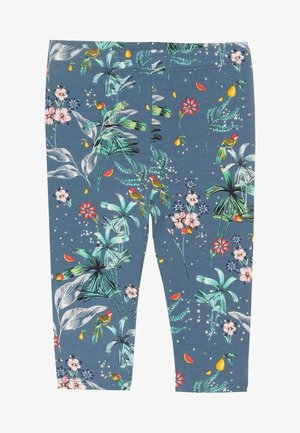 TODDLER GIRL CROP - Legíny - blue