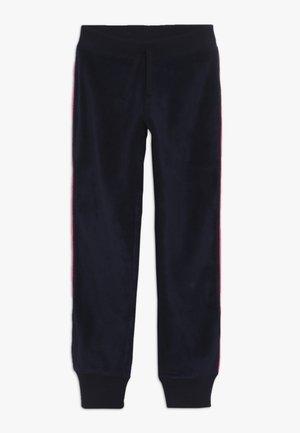 GIRL PIPING - Verryttelyhousut - navy uniform