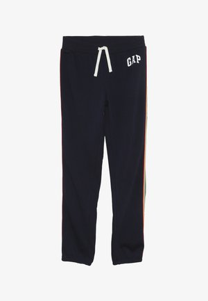GIRL  LOGO - Tracksuit bottoms - navy uniform