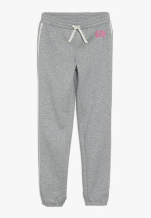 GIRL LOGO JOGGER - Spodnie treningowe - light heather grey