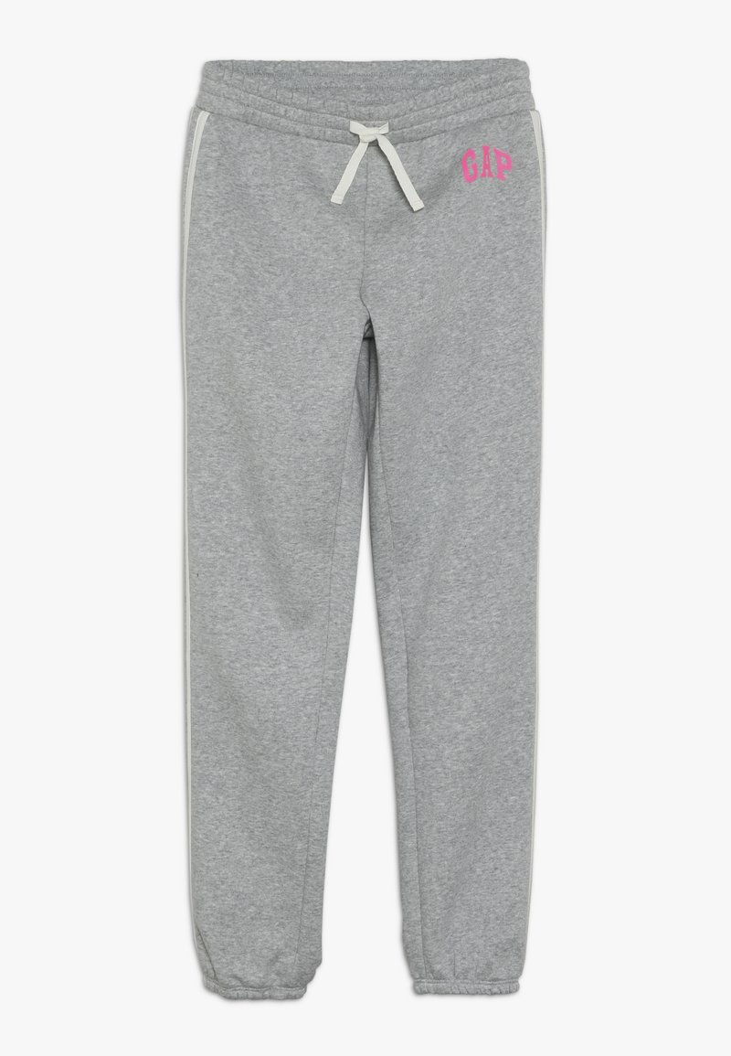 GAP - GIRL LOGO JOGGER - Jogginghose - light heather grey