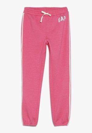GIRL LOGO JOGGER - Teplákové kalhoty - pink jubilee