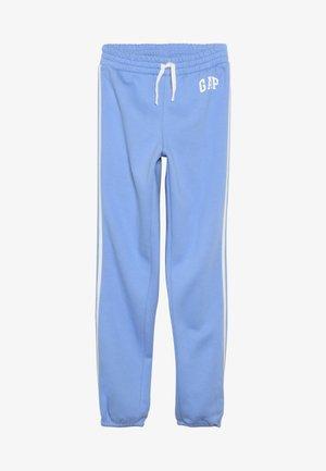 GIRL LOGO JOGGER - Teplákové kalhoty - moore blue