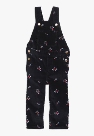 TODDLER GIRL FLORAL - Dungarees - navy