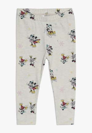 TODDLER GIRL MICKEY MINNIE - Legging - beige melange