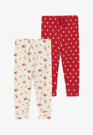 DOT PANT BABY 2 PACK - Leggings - Trousers - ivory frost