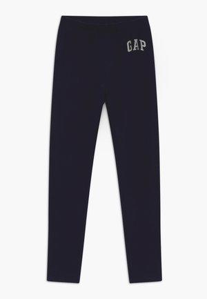 GIRL LOGO - Leggings - Trousers - navy uniform