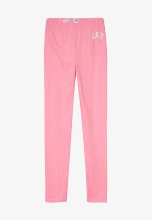 GIRL LOGO  - Legging - neon impulsive pink