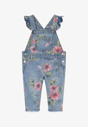 TODDLER GIRL - Dungarees - blue denim