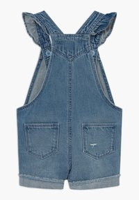 GAP - TODDLER GIRL SCALLOP - Tuinbroek - blue denim - 1