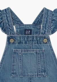 GAP - TODDLER GIRL SCALLOP - Tuinbroek - blue denim - 3