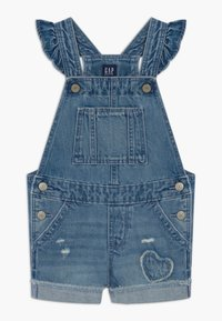 GAP - TODDLER GIRL SCALLOP - Tuinbroek - blue denim - 0