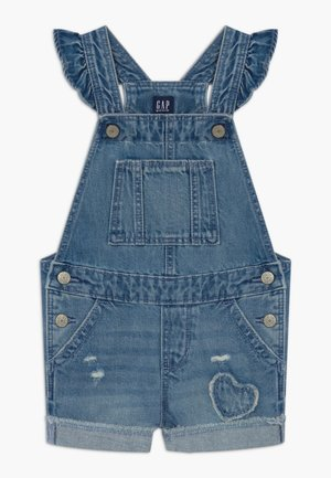 TODDLER GIRL SCALLOP - Tuinbroek - blue denim