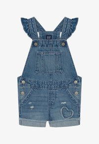 GAP - TODDLER GIRL SCALLOP - Tuinbroek - blue denim - 2