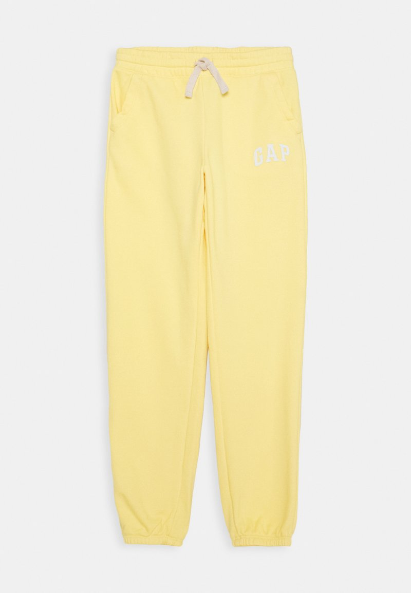 GAP - GIRL - Tracksuit bottoms - yellow sun