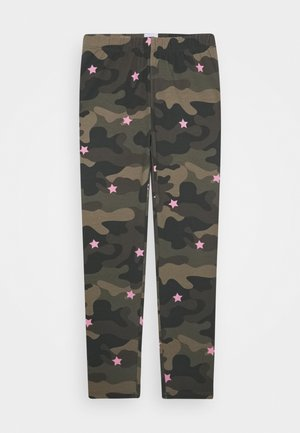 GIRL LEG - Leggings - Trousers - khaki