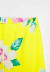 GAP - GIRL CROP - Legging - yellow - 2