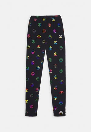 GIRL PRINT LEG - Leggings - navy uniform