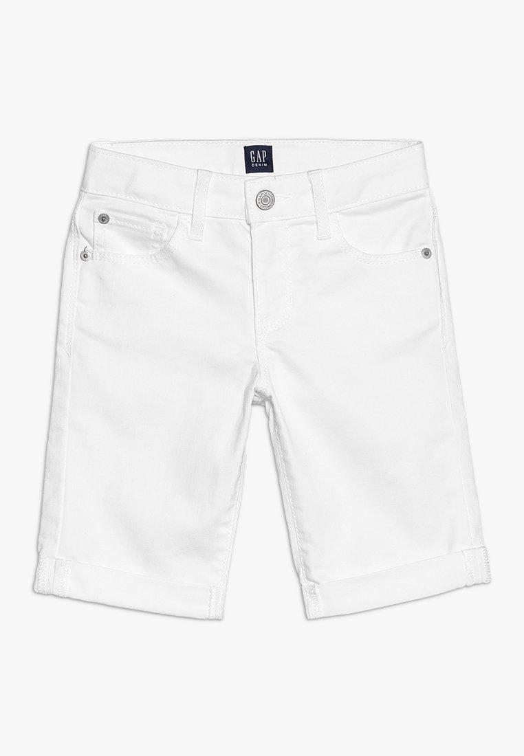 GAP - GIRLS BOTTOMS - Szorty jeansowe - white denim