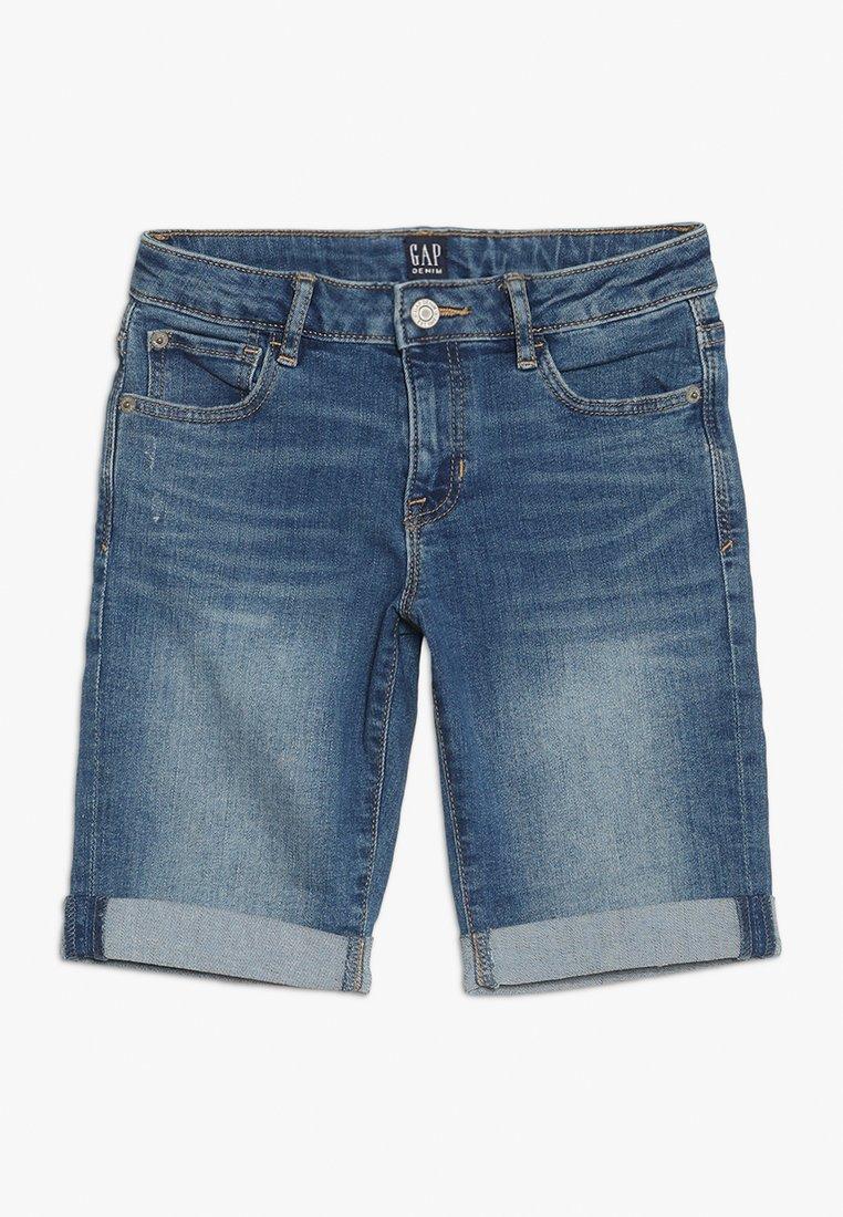 GAP - GIRLS BOTTOMS  - Short en jean - medium wash