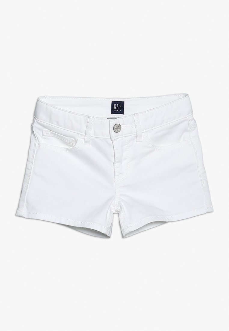 GAP - GIRLS BOTTOMS - Denim shorts - white denim