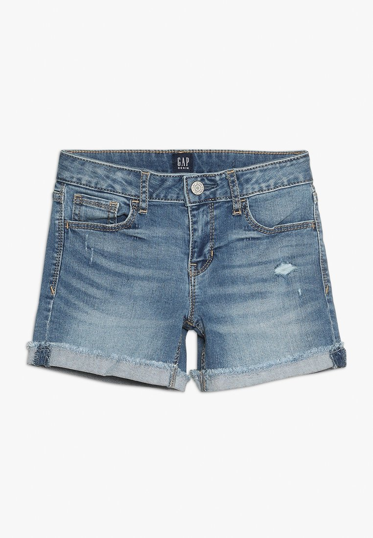 GAP - GIRLS BOTTOMS MIDI - Jeans Shorts - medium wash