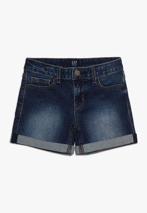 GIRLS  - Jeans Short / cowboy shorts - dark wash