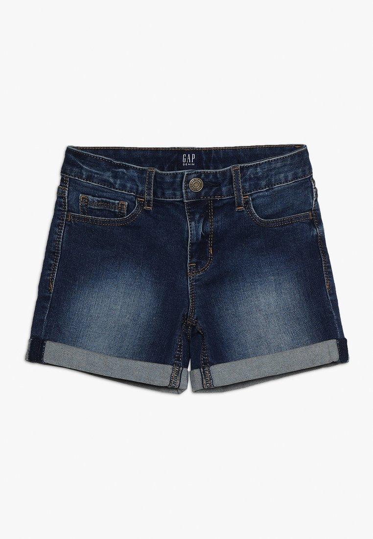 GAP - GIRLS  - Denim shorts - dark wash