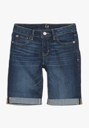 GIRLS BOTTOMS - Shorts - dark wash