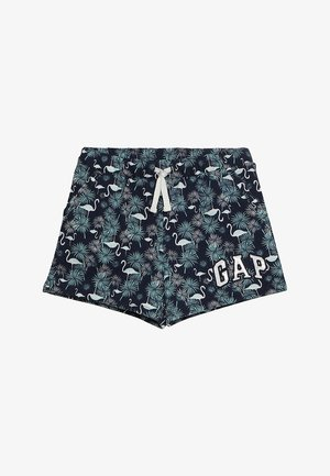 GIRLS LOGO - Pantalones deportivos - dark indigo