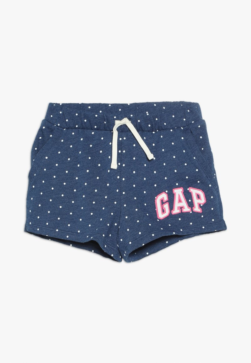 GAP - GIRL LOGO  - Tracksuit bottoms - indigo