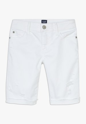 GIRL  - Denim shorts - white