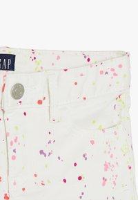 GAP - GIRL - Denim shorts - white - 3