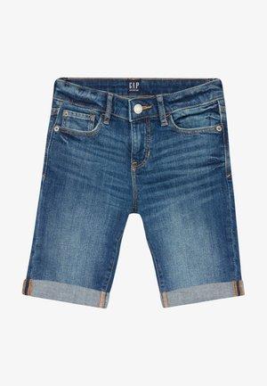 GIRL - Short en jean - medium wash
