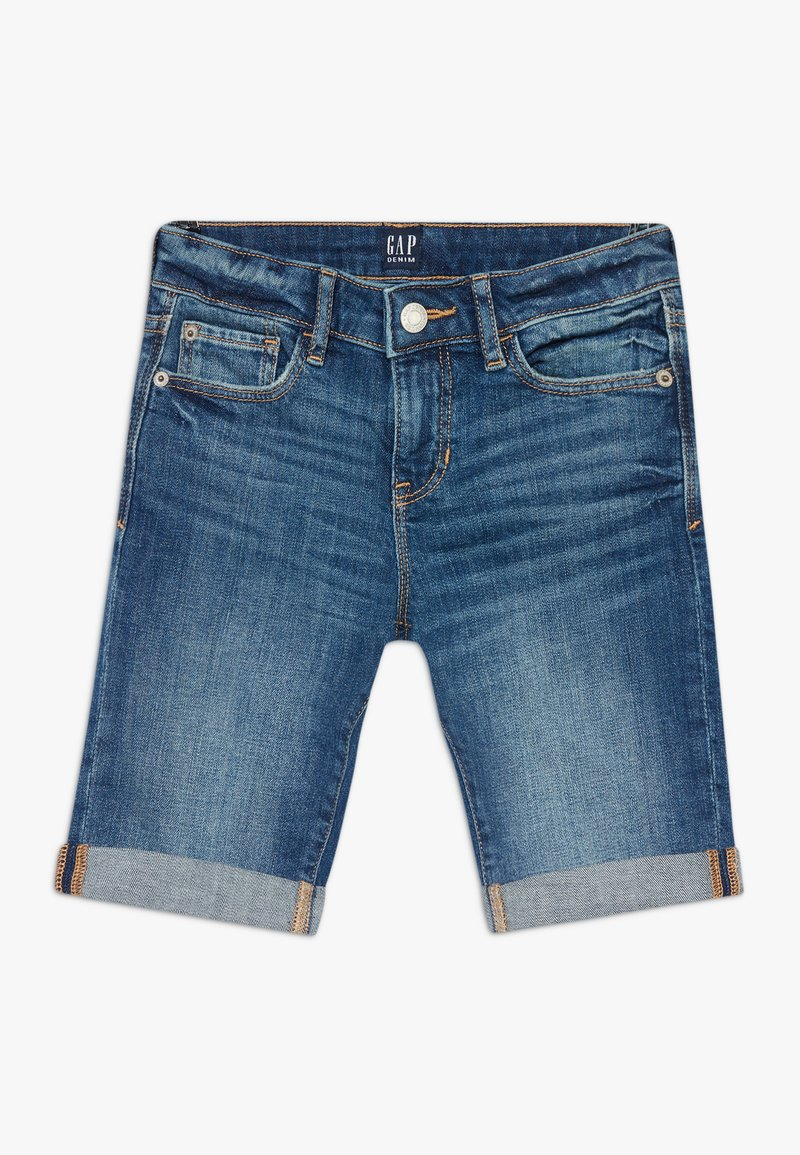 GAP - GIRL - Short en jean - medium wash