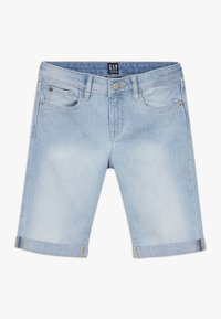 GAP - GIRL - Denim shorts - light wash - 0
