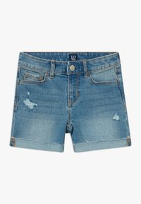 GAP - GIRL MIDI - Short en jean - blue denim - 0