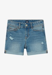 GAP - GIRL MIDI - Short en jean - blue denim - 3