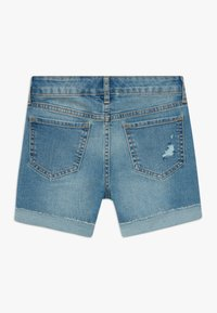 GAP - GIRL MIDI - Short en jean - blue denim