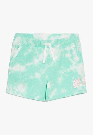 GIRL LOGO  - Tracksuit bottoms - green