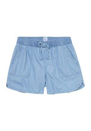 GIRL PULL ON  - Shorts - light wash