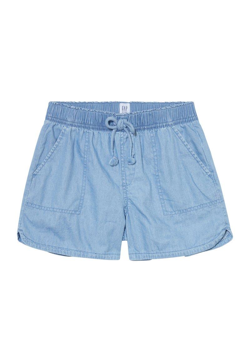GAP - GIRL PULL ON  - Shorts - light wash