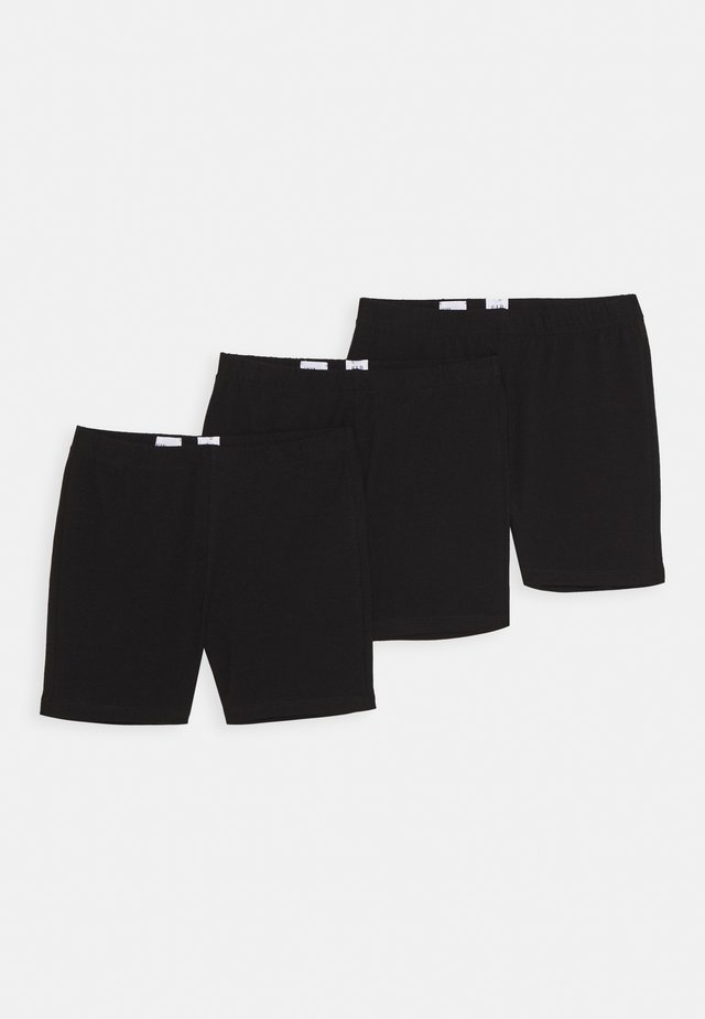 GIRL 3 PACK - Short - true black