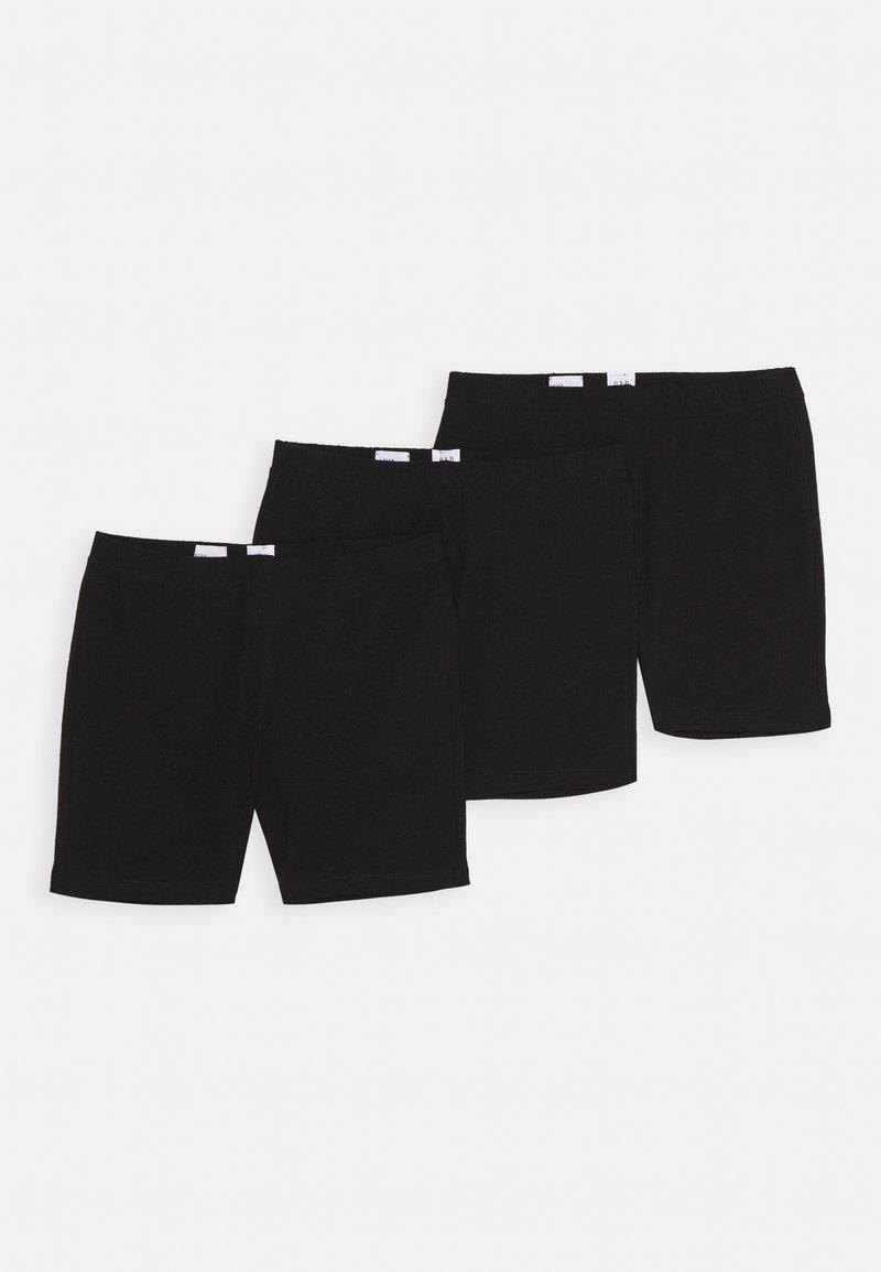 GAP - GIRL 3 PACK - Shorts - true black