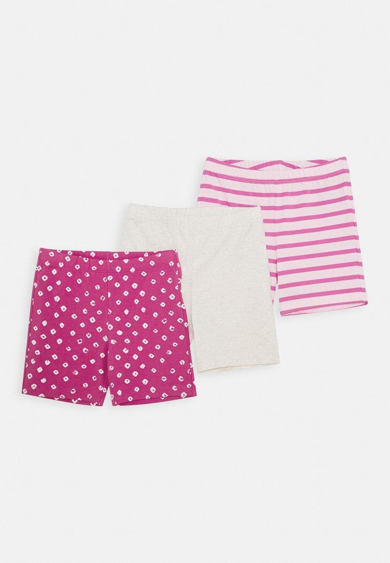 GAP - GIRL TUMBLE 3 PACK - Kraťasy - pink multi
