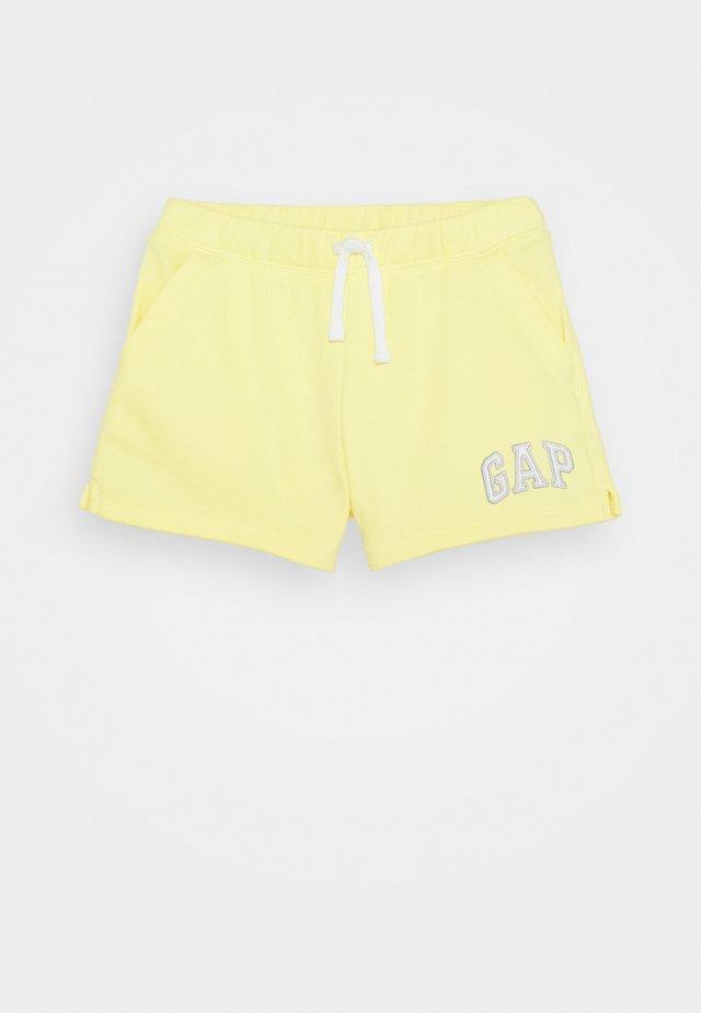 GIRL  - Shorts - yellow sun