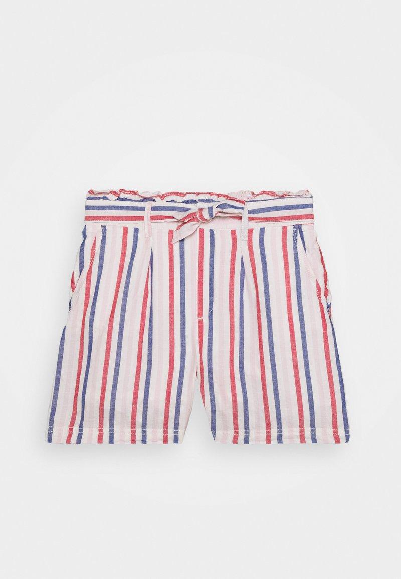 GAP - GIRL PAPERBAG - Short - off white/red/blue