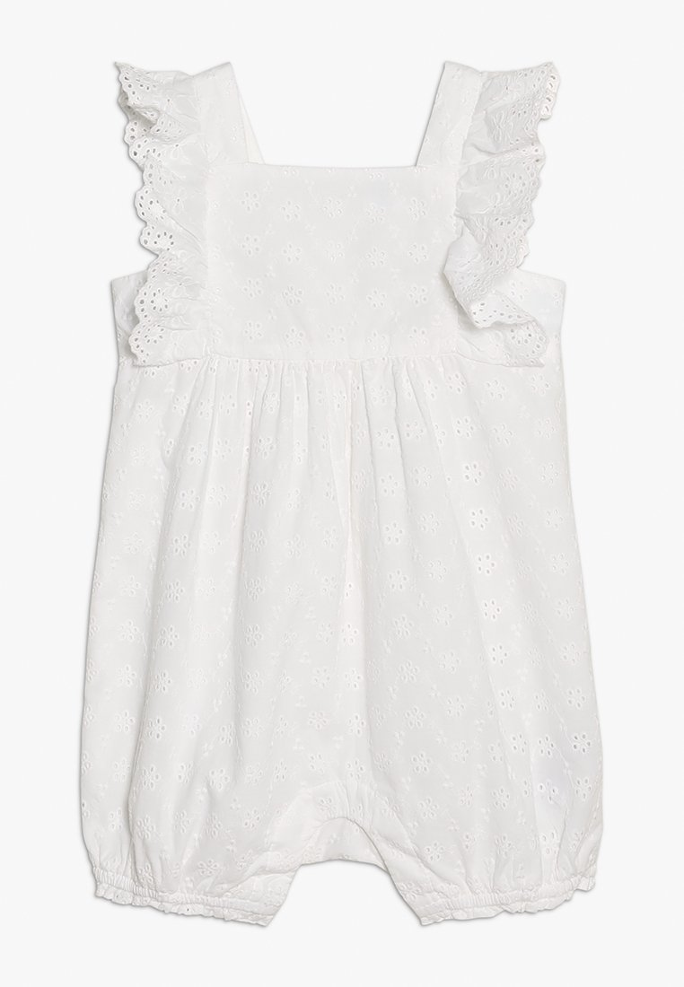 GAP - EYELET SHORTY BABY - Overall / Jumpsuit - white